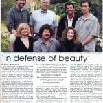 Daniel W. Pinkham Featured in Peninsula People Magazine July 2005 Issue