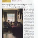Jeremy Lipking Featured in American Art Collector Magazine May 2006 Issue