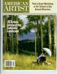 """Peter Adams Featured in American Artist Magazine """"20 Painters Interpret the Forbes Trinchera Ranch"""" March 2007 Issue"""