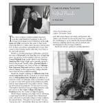 Christopher Slatoff Featured in California Art Club Newsletter, Fall 2008