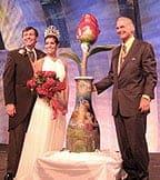 Peter Adams Creates First Rose for Tournament of Roses Public Art Program