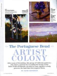 portuguese bend artist colony
