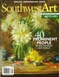 Tony Peters in Southwest Art Magazine May 2011 Issue
