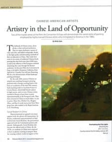 artistry in the land of opportunity