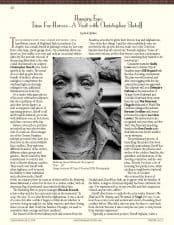 American Legacy Fine Arts presents Christopher Slatoff in California Art Club Newsletter.
