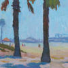 """American Legacy Fine Arts presents """"California Summer"""" a painting by Eric Merrell."""