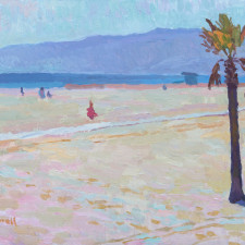"""American Legacy Fine Arts presents """"Offshore Breeze"""" a painting by Eric Merrell."""