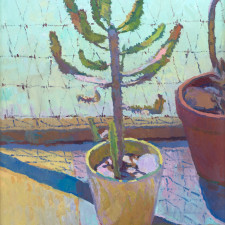"""American Legacy Fine Arts presents """"Thrive"""" a painting by Eric Merrell."""