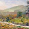 """American Legacy Fine Arts presents """"Old Road, Las Virgenes Canyon"""" a painting by George Gallo"""