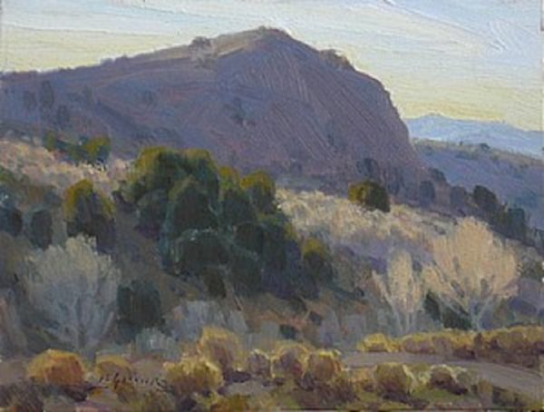 """American Legacy Fine Arts presents """"Brunswick Bluffs"""" a painting by Jean LeGassick."""