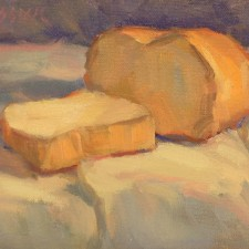 """American Legacy Fine Arts presents """"A Slice of Life"""" a painting by Jean LeGassick."""