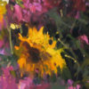 """American Legacy Fine Arts presents """"Jove's Summer Garden"""" a painting by Jove Wang."""