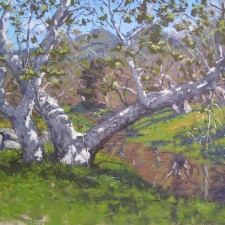 """American Legacy Fine Arts presents """"Still Standing"""" a painting by Scott W. Prior."""