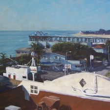 """American Legacy Fine Arts presents """"The Bu"""" a painting by Scott W. Prior."""