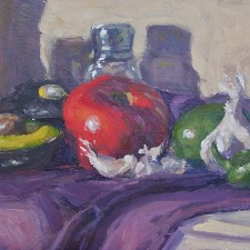 """American Legacy Fine Arts presents """"Holy Guacamole"""" a painting by Scott W. Prior."""