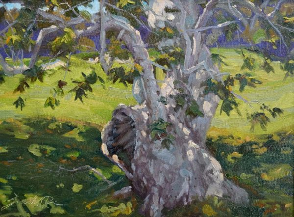 """American Legacy Fine Arts presents """"Still Here"""" a painting by Scott W. Prior."""