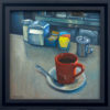 """American Legacy Fine Arts presents """"Determined"""" a painting by Tony Peters."""