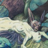 """American Legacy Fine Arts presents """"Vampry"""" a painting by William Stout."""