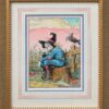 """American Legacy Fine Arts presents """"Scarecrow of OZ"""" a painting by William Stout."""