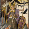 """American Legacy Fine Arts presents """"Brunhilde"""" a painting by Williams Stout"""