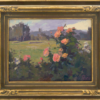 """American Legacy Fine Arts presents """"Evening Roses in Los Angeles"""" a painting by Alexey Steele."""