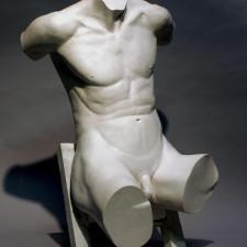 """American Legacy Fine Arts presents """"Torso"""" a sculpture by Béla Bácsi."""