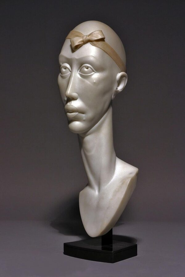 "American Legacy Fine Arts presents ""Bownita"" a sculpture by Béla Bácsi."