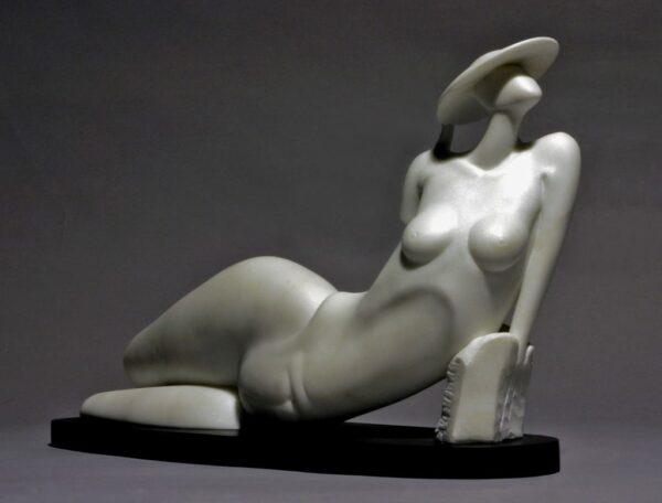 "American Legacy Fine Arts presents ""L'Estate"" a sculpture by Béla Bácsi."