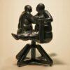 "American Legacy Fine Arts presents ""Swinging Sisters"" a sculpture by Béla Bácsi."
