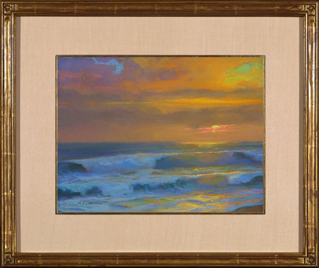 "American Legacy Fine Arts presents ""Elegance; Oceanside, California"" a painting by Peter Adams"