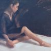 """American Legacy Fine Arts presents """"Interlude"""" a painting by Jeremy Lipking."""