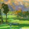 """American Legacy Fine Arts presents """"Summer Clouds"""" a painting by Peter Adams"""