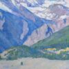 """American Legacy Fine Arts presents """"By Natural Design"""" a painting by Amy Sidrane."""