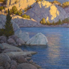 """American Legacy Fine Arts presents """"What a Little Sunlight Will Do"""" a painting by Jean Le Gassick."""