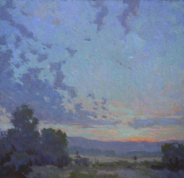 """American Legacy Fine Arts Presents """"Celestial Nocturne"""" a painting by Jennifer Moses."""