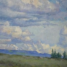 """American Legacy Fine Arts presents """"Nomads of the Sky"""" a painting by Amy Sidrane."""