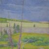 """American Legacy Fine Arts presents """"Standpoint of Time"""" a painting by Amy Sidrane."""
