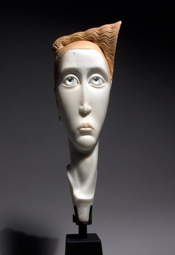 "American Legacy Fine Arts presents ""Emma"" a sculpture by Béla Bácsi."