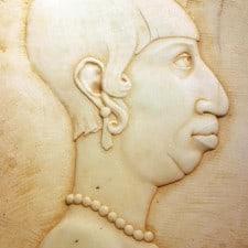 "American Legacy Fine Arts presents ""Pearl"" a sculpture by Béla Bácsi."