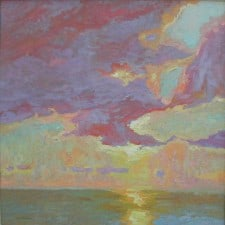 """American Legacy Fine Arts presents """"Day of Glory"""" a painting by Daniel w. Pinkham."""