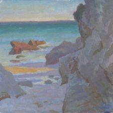 """American Legacy Fine Arts presents """"Into the Light"""" a painting by Daniel W. Pinkham."""