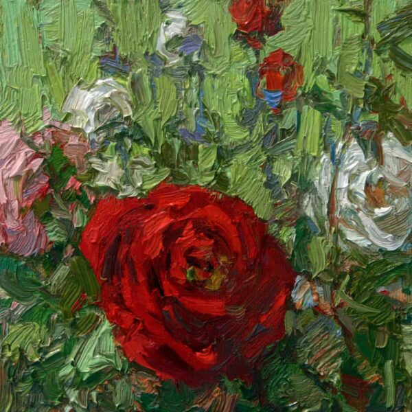"""American Legacy Fine Arts presents """"Sweet Smell of Success,"""" a painting by David C. Gallup."""