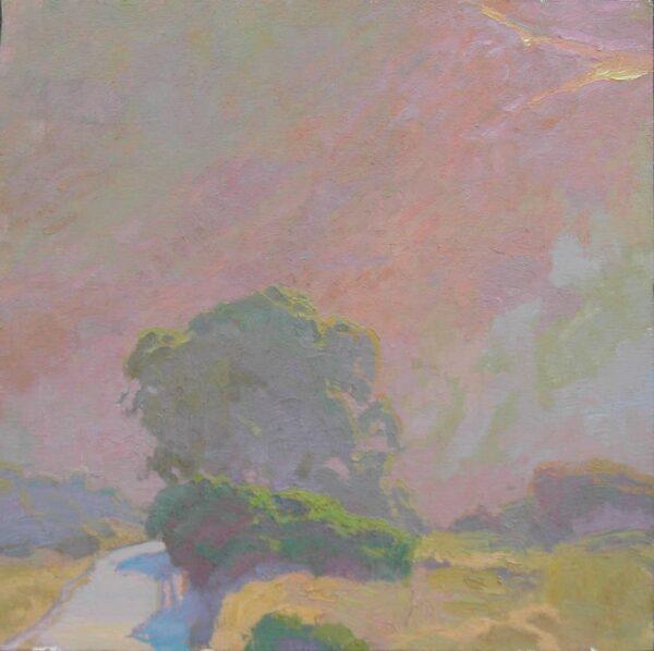 "American Legacy Fine Arts presents ""Morning Haze"" a painting by Daniel W. Pinkham."
