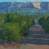 """American Legacy Fine Arts presents """"Fillmore Orange Groves"""" a painting by Eric Merrell."""