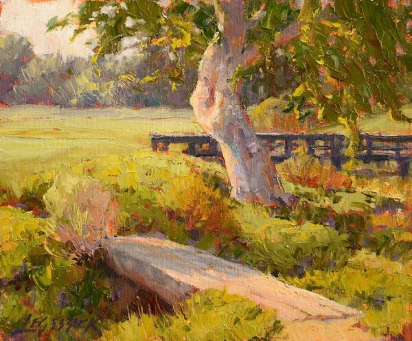 """American Legacy Fine Arts presents """"Rustic and Slick"""" a painting by Jean LeGassick."""