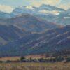 "American Legacy Fine Arts presents ""Beneath Warren Peak; Surprise Valley Near Cedarville, CA"" a painting by Jean LeGassick."