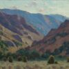 """American Legacy Fine Arts presents """"Light Filled Canyon"""" a painting by Jean LeGassick."""