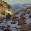 """American Legacy Fine Arts presents """"Melting Snow"""" a painting by Jean LeGassick."""