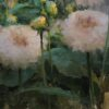 """American Legacy Fine Arts presents """"Pink Dahlias"""" a painting by Jeremy Lipking."""