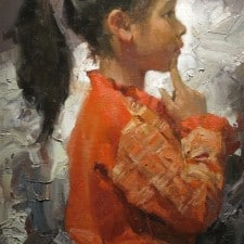 """American Legacy Fine Arts presents """"The Innocence"""" a painting by Mian Situ."""